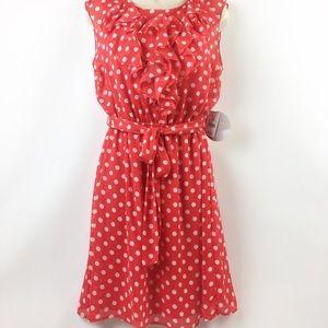 Dresses & Skirts - Emma & Michelle Red Dot Dress